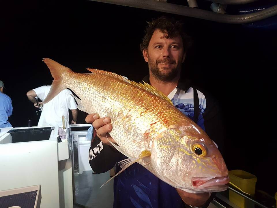 Want more fishing action? Try a night reef trip with Northern Conquest Charters